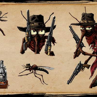 Jack - old character designs